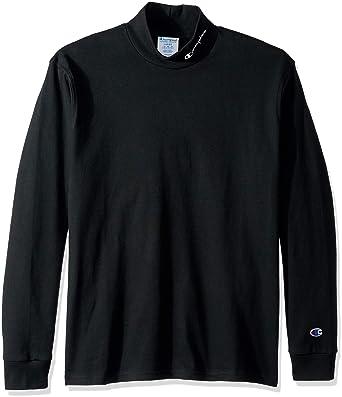 73f677a738e Champion LIFE Men s Long Sleeve Heavyweight Mock Neck at Amazon Men s  Clothing store