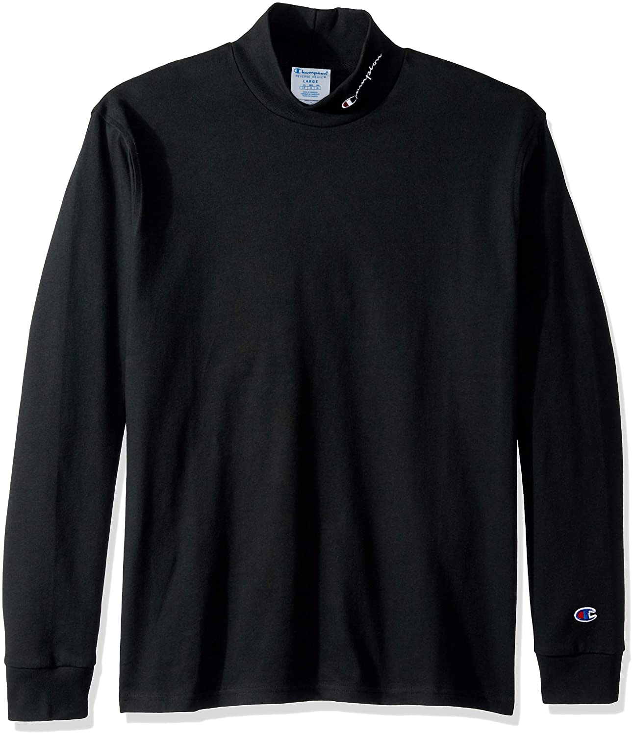 1e56e6c6cdab Champion Mens Long Sleeve Heavyweight Mock Neck Shirt: Amazon.ca: Clothing  & Accessories
