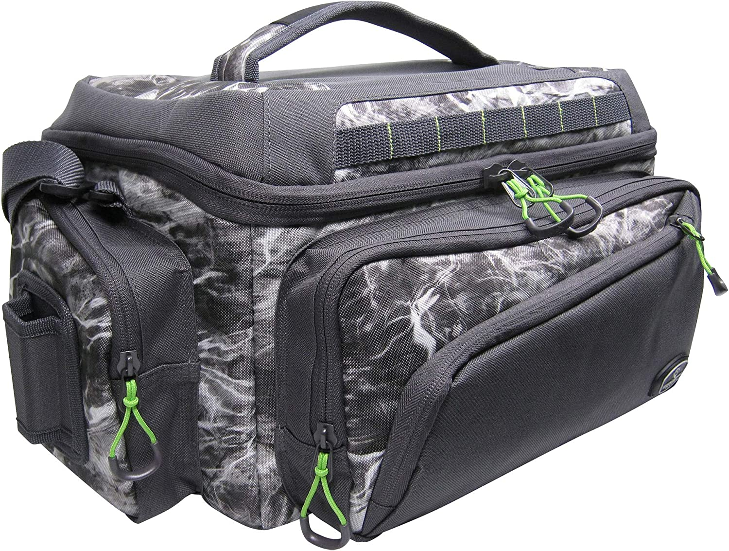 Evolution Outdoor Design Large Mouth Mossy Oak Tackle Bag 3700 Manta Grey Camo Evolution Fishing 34001