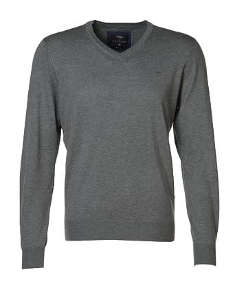 0101a22e546d2 FYNCH-HATTON - Pull - Homme Vert Olive  Amazon.fr  Vêtements et ...