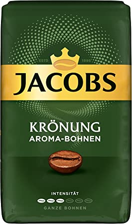 Jacobs Krönung Aroma-bohnen, Granos de Conjunto, Pack de 12, 12 x 500 g: Amazon.es: Hogar