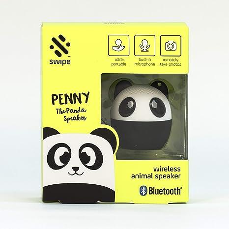 Thumbs Up! Panda - Altavoz para smartphone, Negro: Amazon.es ...