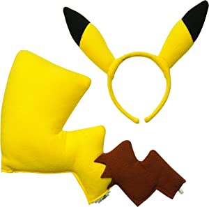 Rubies Pokémon Pikachu Ears and Tail Dress Up Kit (Discontinued by manufacturer)