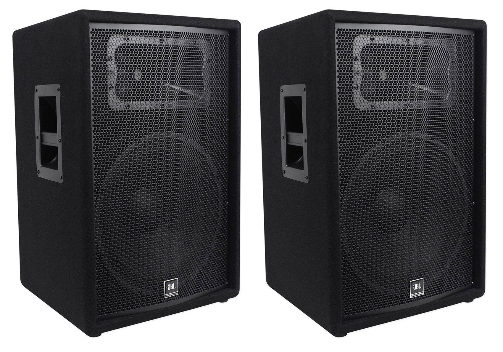 (2) JBL Pro JRX215 15'' 2000w Professional Passive PA/DJ Speakers 8 Ohm JRX 215 by JBL