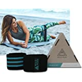 Wild Peak Premium Resistance Bands for Legs and Butt | Booty Workout Band Non-Slip | Exercise Equipment & Accessories for Home & Gym | Women & Men