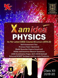 Xam Idea Physics Class 12 for 2019 Exam : Amazon in: VK