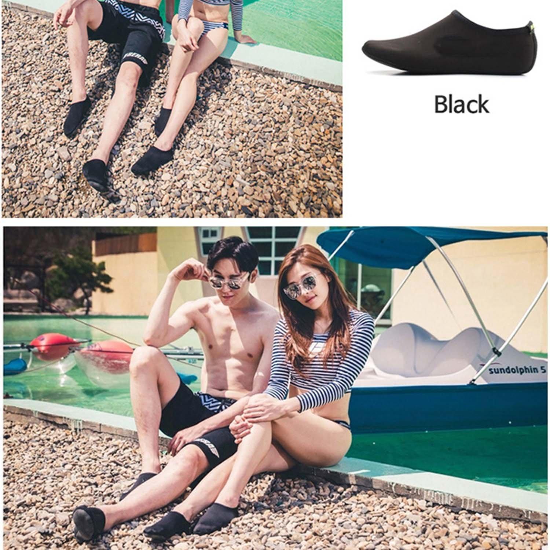 WAWEN Womens Mens Kids Water Sports Shoes Aqua Socks Lightweight Quick-Dry Barefoot Beach Pool Surfing Yoga