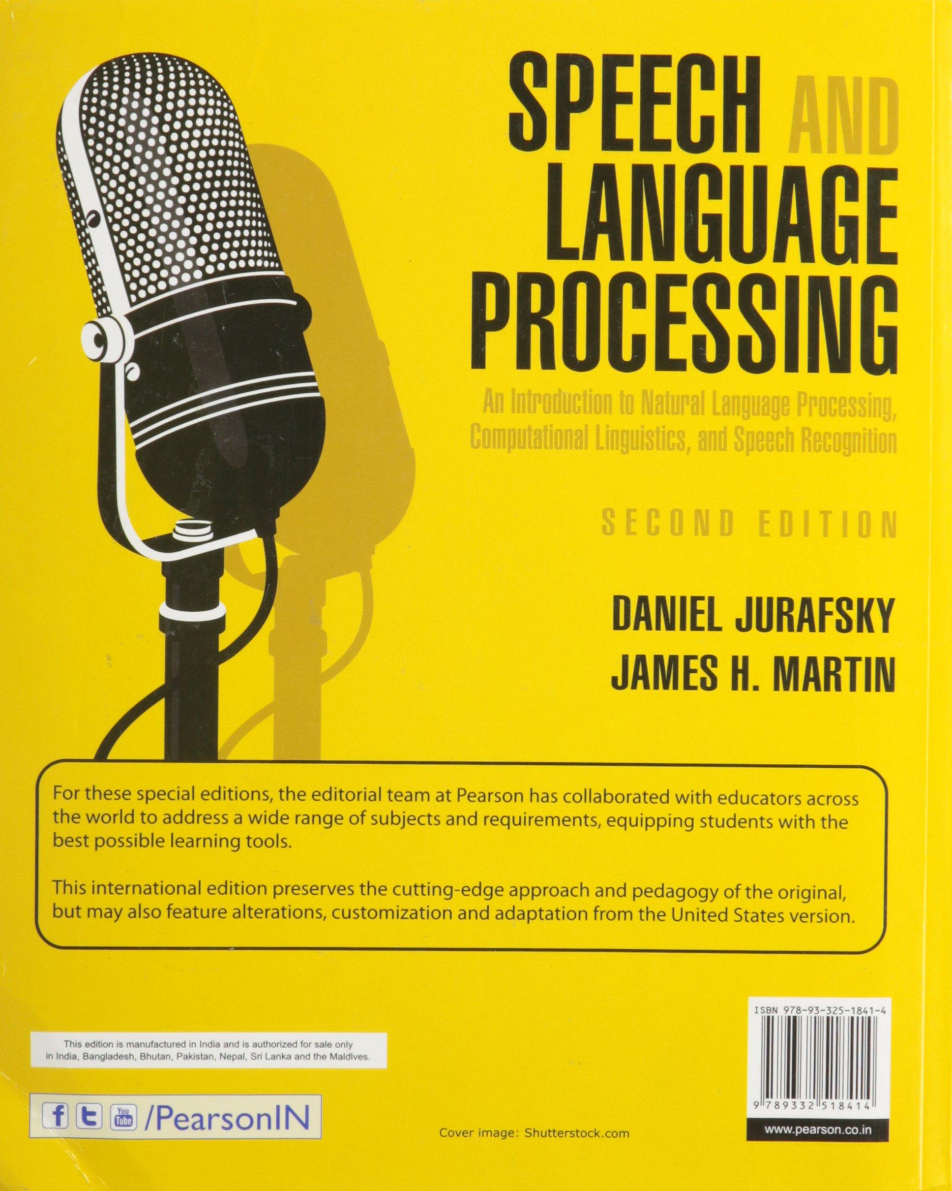 Speech And Language Processing Jurafsky 2nd Edition Pdf