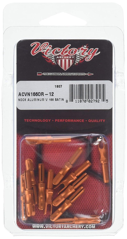 Pack of 12 Victory Archery Aluminum V Nock 0.166