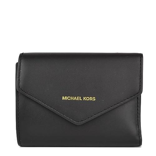MICHAEL by Michael Kors Blakely Monedero de Cuero Negro Mujer one size Negro: Amazon.es: Zapatos y complementos