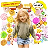 Karids Random 20 pcs squishies pack Jumbo Medium Mini Soft Squishy Cake/Panda/Bread/Buns Phone Straps Good Smell by