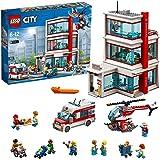 LEGO City - Hospital, Juguete Creativo de Construcción de Edificio con Helicóptero y Ambulancia para Niños y Niñas de 6…
