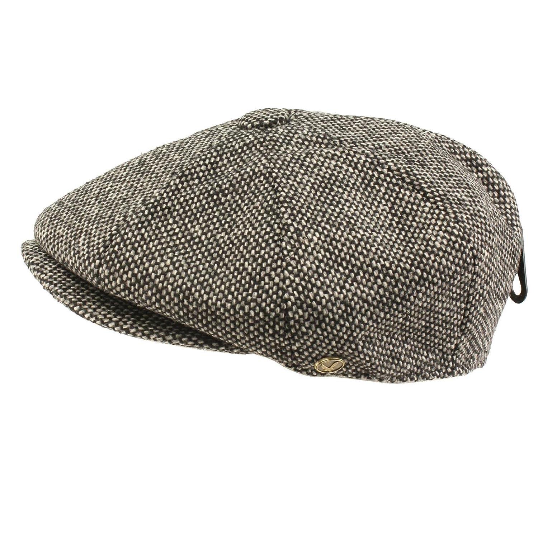 Amazon.com  SK Hat shop Men s 100% Wool Winter Classic Tweed newsboy Cabbie  Gatsby Cap Hat  Clothing ea19f5bd4821