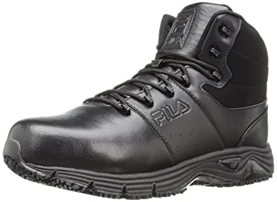 9b0a07f114 Fila Men's Memory Breach Work Slip Resistant Steel Toe Walking Shoe