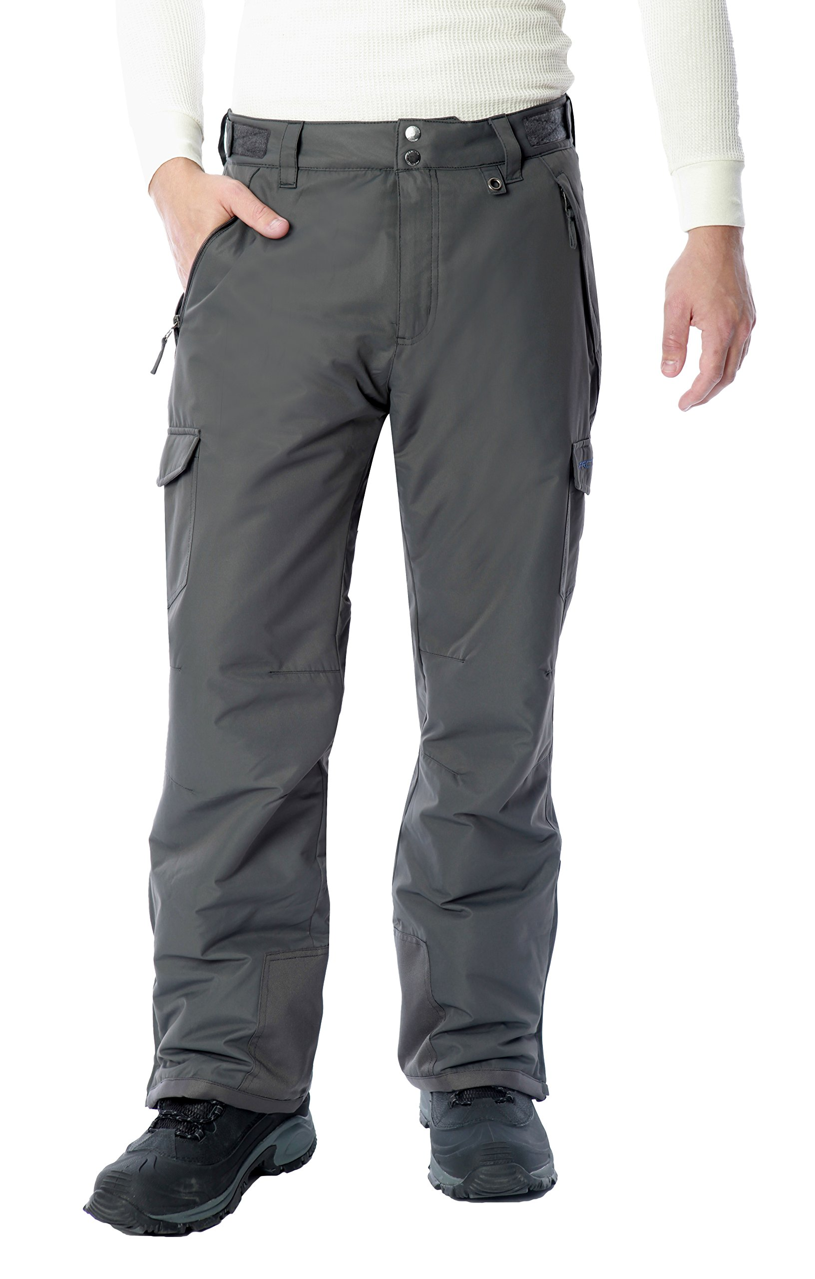 Arctix Men's Snow Sports Cargo Pants, Charcoal, Large/Regular by Arctix