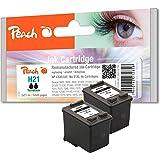 21 Peach bk pack druckköpfe, c9351AE, point compatible hP 21XL (noir)