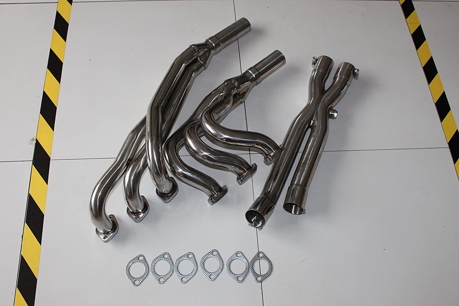 Racing Sport Manifold Exhaust Header+Y-Pipe for BMW 86-91 E30 3 Series 2.5L 2.7L