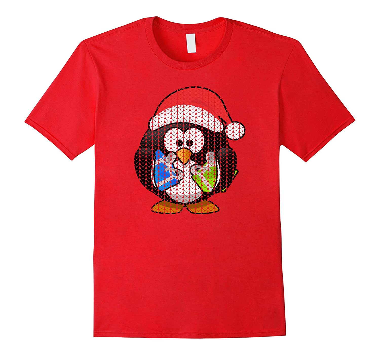 UGLY CHRISTMAS SWEATER Holiday Penguin Cool T-Shirt Gift-ANZ