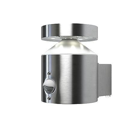 Osram Luminaria LED de Exterior, 6 W, Plateado, Aplique con Sensor