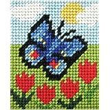 Kit de tapisserie-Motif Papillon Kit de tapisserie
