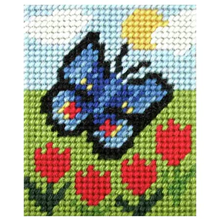 Puppy /& Butterfly Tapestry kit