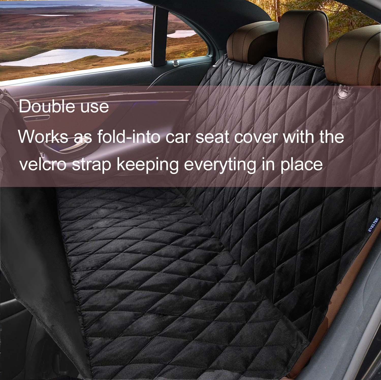 EVELTEK Luxury X Large Dog Seat Cover 60x58 Amazonca Automotive