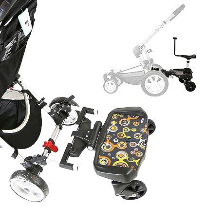 Asiento o plataforma para cochecito o silla de paseo iSafe SegBoard,completa con