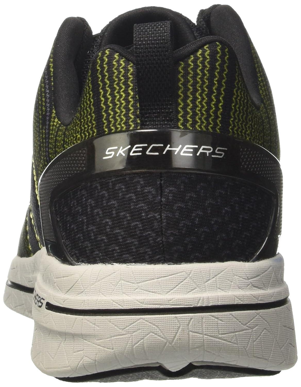 Skechers Burst 2.0-IN the MIX II, Zapatillas para Hombre, Negro (Bklm), 42.5 EU