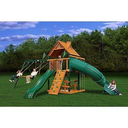 Amazon Com Blue Ridge Mountaineer Swing Set Toys Games