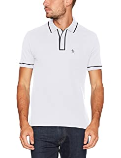 Original Penguin Winston, Polo Homme, Blanc (Bright White 118), XL (Taille Fabricant:X L)