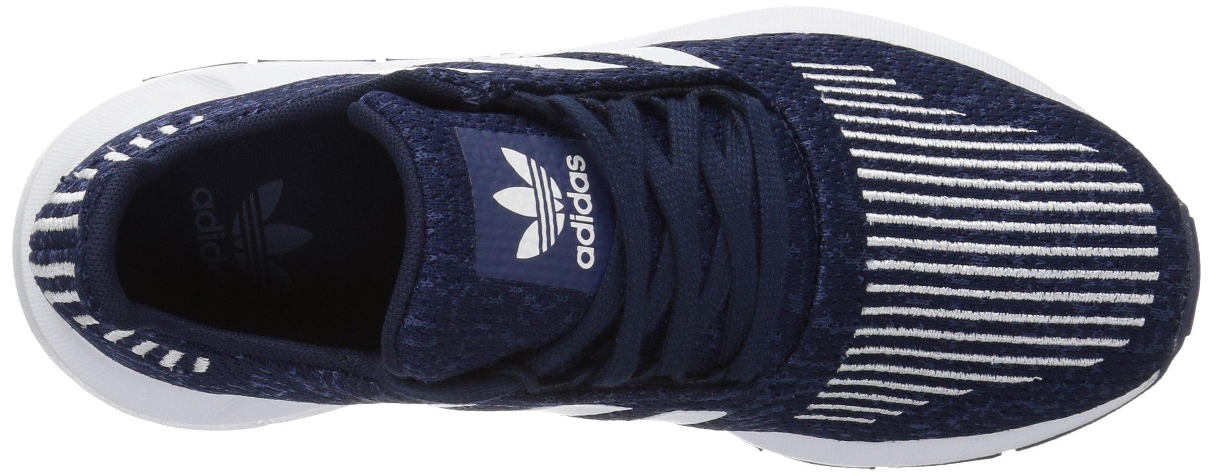 adidas Originals Baby Swift Running Shoe, Collegiate Navy/White/Mystery Blue, 4K M US Toddler by adidas Originals (Image #7)