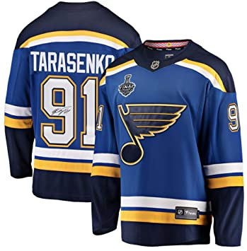 watch e618b 9312b Vladimir Tarasenko St. Louis Blues Autographed Blue Fanatics ...