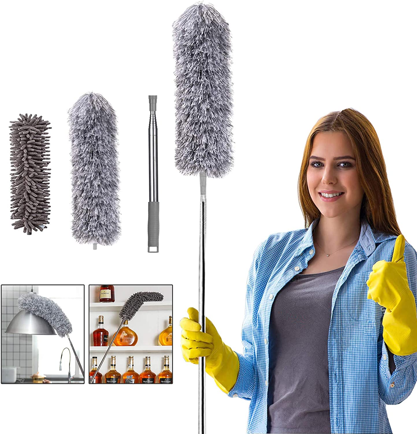 Microfiber Duster for Cleaning, 100