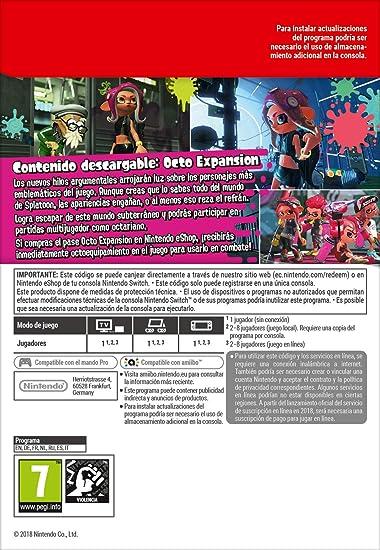 Splatoon 2: Octo Expansion [Switch - Download Code]: Amazon.es ...