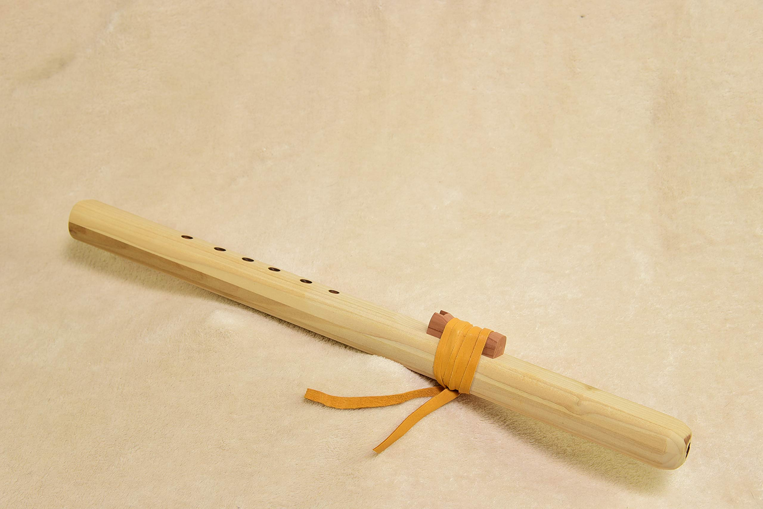 Windpony Unfinished Poplar Flute in the Key of A