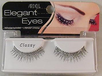 3cae548e2e3 Amazon.com : Ardell Elegant Eyes False Eye Lashes Classy 3 Pack (3 Pair) :  Fake Eyelashes And Adhesives : Beauty