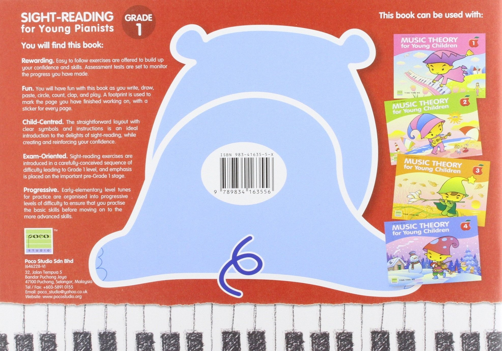Sight Reading for Young Pianists Grade 1: 9789834163556: Amazon.com ...