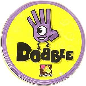 Spot IT Juego de Mesa o Juego Dobble, Original, Con su estuche de lata juego de agilidad Mental para toda la familia, Reuniones, amigos