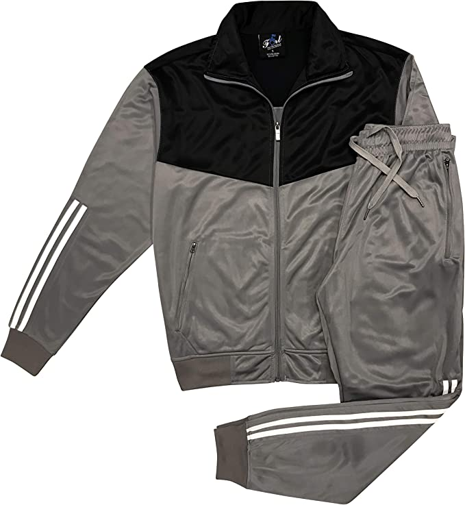 Royal Threads Canada Mens Velocity Stripes Activewear Track Jacket Trackpants Jogger Outfit