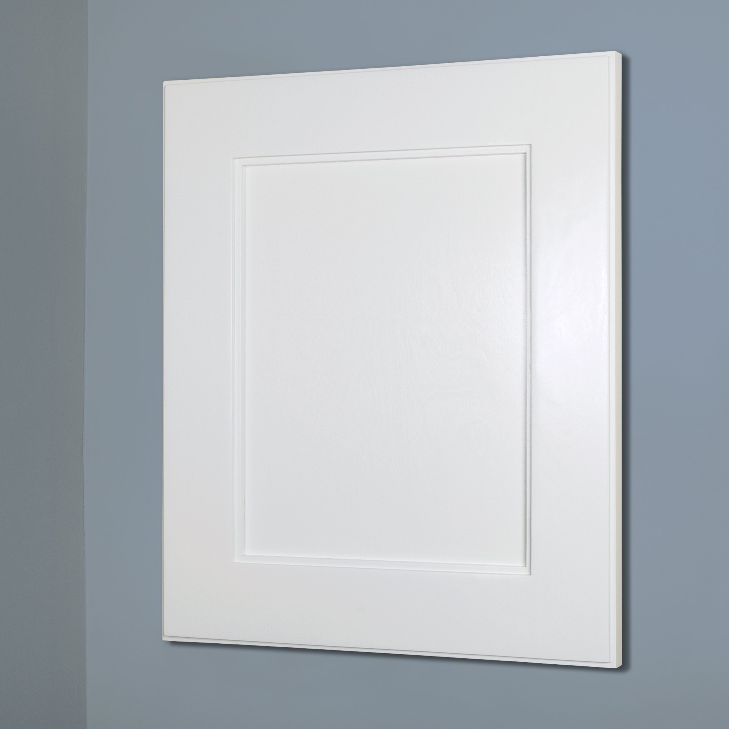 13x16 Shaker Style Recessed Medicine Cabinet by Fox Hollow Furnishings (Regular, White)