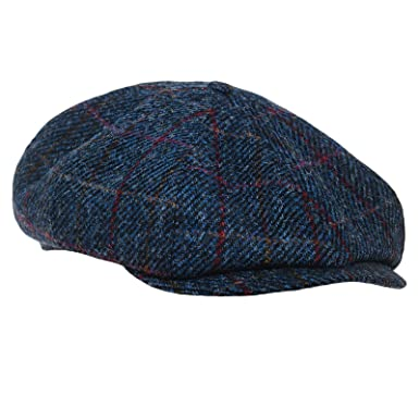 98f3dbc914d10 Sterkowski Shelby Newsboy Harris Tweed Cap at Amazon Men s Clothing ...