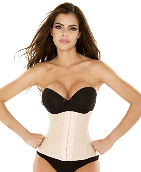 ee546e08e991b Ursula Women s Perfect Fit Workout Waist Cincher and Body Shaper ...