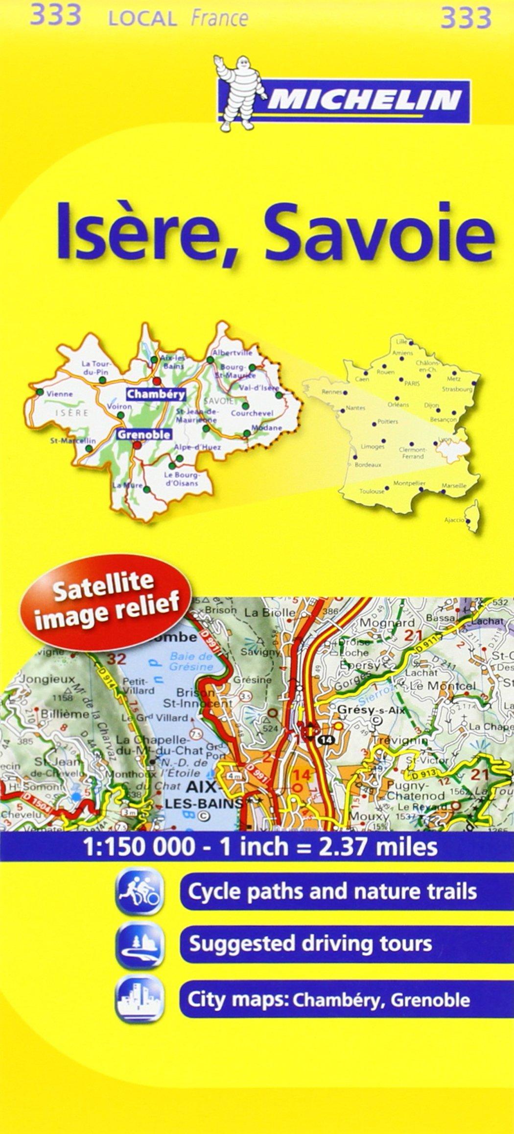 Mapa Local Isère, Savoie (Mapas Local Michelin): Amazon.es: Michelin Travel Publications: Libros en idiomas extranjeros