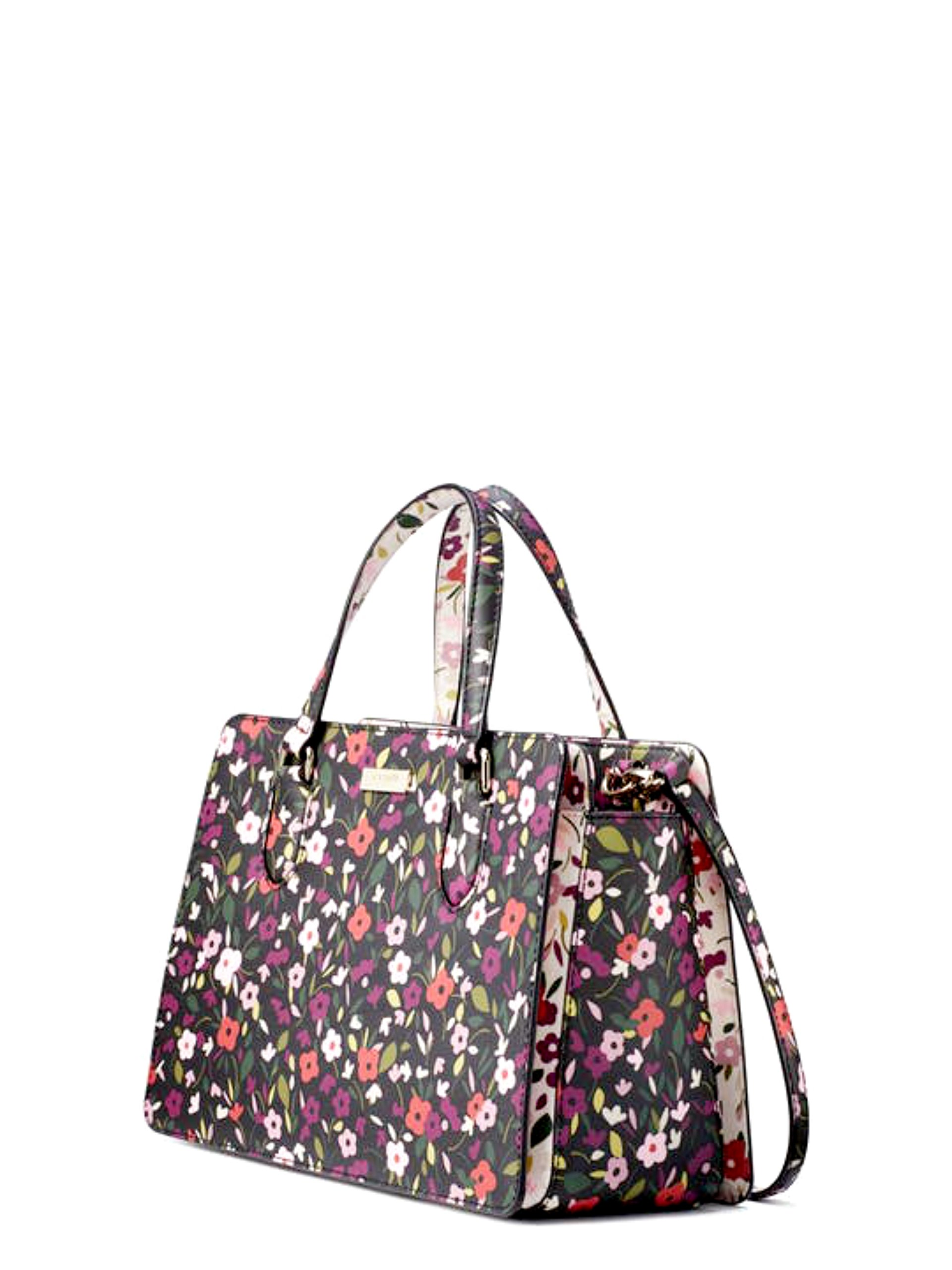 Kate Spade Laurel Way Boho Floral Reese Women's Leather Handbag Satchel