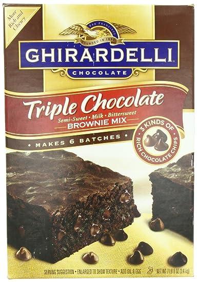 Cake Like Brownies Ghirardelli Mix