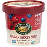 Nature's Path Organic Oatmeal Cup, Summer Berries (Pack of 12)