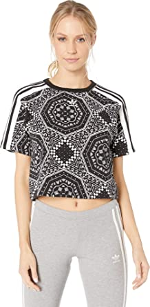 caf17e6d adidas Originals Women's Crop Tee at Amazon Women's Clothing store: