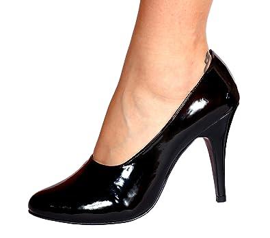 Michele X of London - Zapatos de vestir para mujer negro negro WpIxRGN2