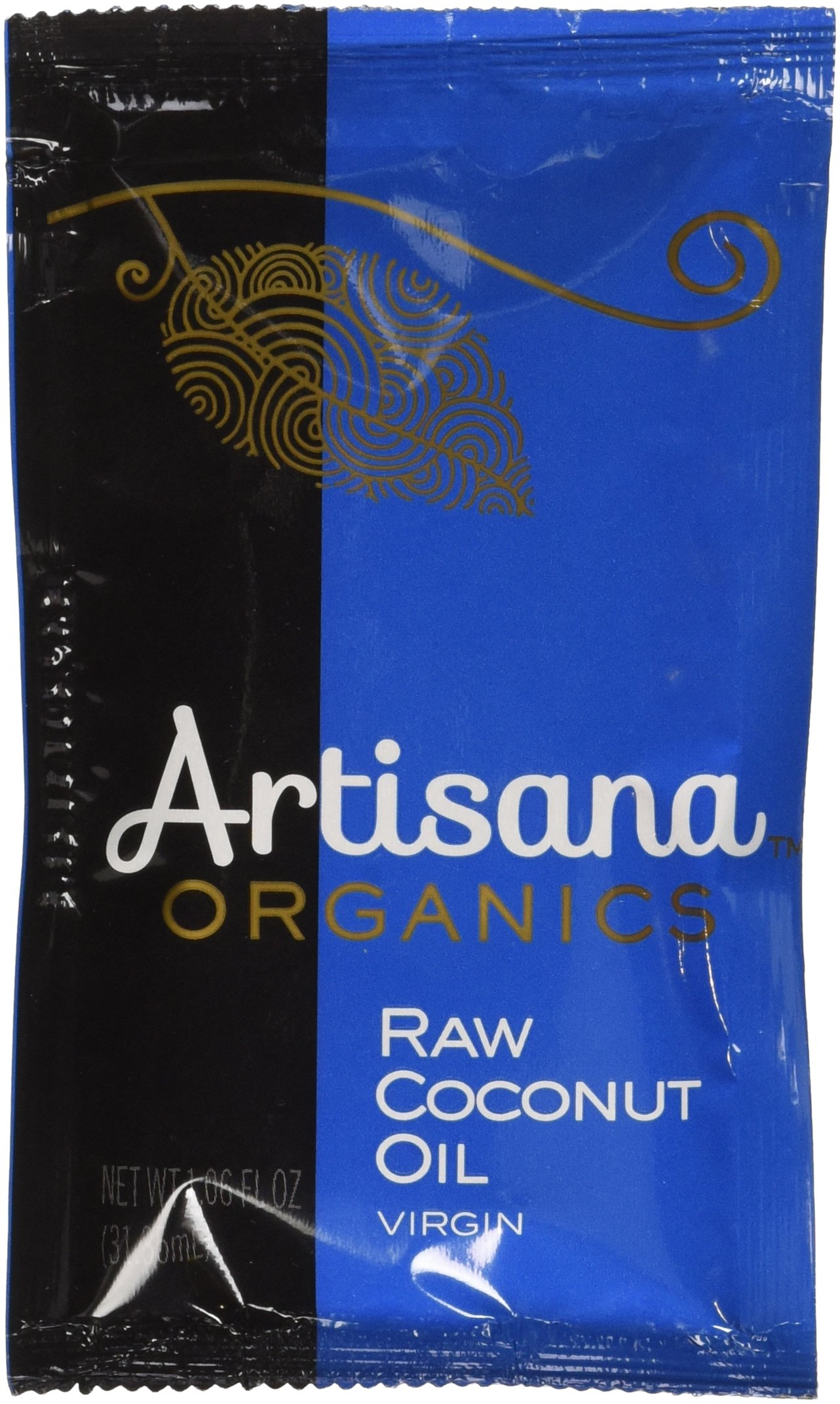Artisana Organics - Coconut Oil Extra Virgin, Non-Hydrogenated and Cholesterol-Free, USDA and Non-GMO (10-Pack,1.06 oz)