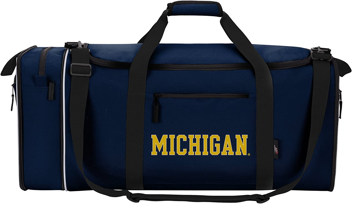 """Offically Licensed NCAA """"Steal"""" Duffel Bag, 28"""", Multi Color"""